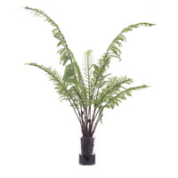 John Richard Fresh Water Look Botanical in Greens JRB-2824W
