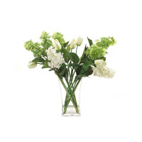 John Richard Fresh Water Look Botanical in Greens JRB-2835W
