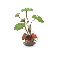 John Richard Fresh Water Look Botanical in Reds JRB-2851W