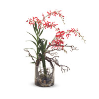 John Richard Fresh Water Look Botanical in Reds JRB-2852W