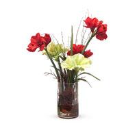 John Richard Fresh Water Look Botanical in Reds JRB-2855W