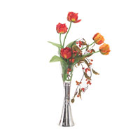 John Richard Fresh Water Look Botanical in Reds JRB-2869W