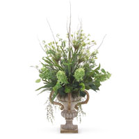 John Richard Florals Botanical in Greens JRB-2876