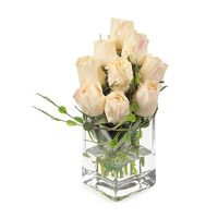 John Richard JRB-2900W The Perfect Rose White Botanical