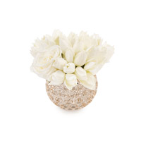 Thumbprints White Artificial Plant