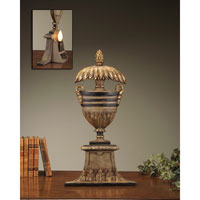 John Richard Portable 1 Light Accent Lamp in Gold and Black JRL-6835