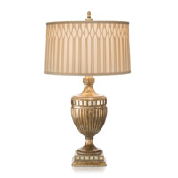 John Richard Portable 1 Light Table Lamp in Beige JRL-6865