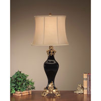 John Richard Portable 1 Light Table Lamp in Antique Gold JRL-7029