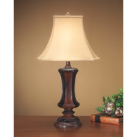 John Richard Portable 1 Light Table Lamp in Antique Gold JRL-7043