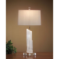 John Richard Portable 1 Light Table Lamp in Oyster JRL-7087