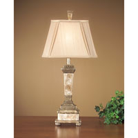 John Richard Portable 1 Light Table Lamp in French Beige JRL-7099