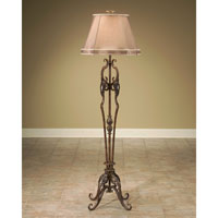 John Richard Portable 1 Light Floor Lamp in Metalic Gold JRL-7200