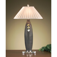 Portable 37 inch 60 watt French Beige Table Lamp Portable Light