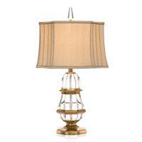 John Richard Portable 1 Light Table Lamp in Beige JRL-7389