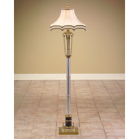 John Richard Portable 1 Light Floor Lamp in Brass JRL-7403
