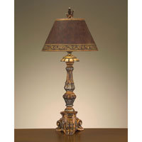 John Richard Portable 1 Light Table Lamp in Hand-Painted JRL-7678
