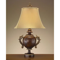 John Richard Portable 1 Light Table Lamp in Antique Gold JRL-7703 photo thumbnail