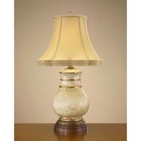 John Richard Portable 1 Light Table Lamp in Antique Gold JRL-7738
