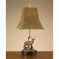 John Richard Portable 1 Light Accent Lamp in Bronze JRL-7745 photo thumbnail