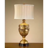 John Richard Portable 1 Light Table Lamp in Floral JRL-7833