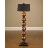 John Richard John Richard Floor Lamp in Charcoal Brown  JRL-7835