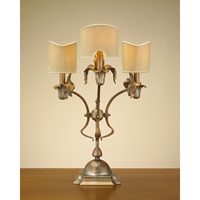 John Richard Portable 3 Light Accent Lamp in French Beige JRL-7860