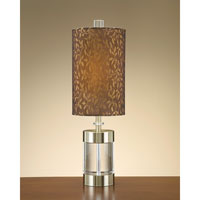 John Richard Crystal 1 Light Table Lamp in Bronze JRL-7863