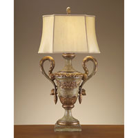 John Richard Portable 1 Light Table Lamp in French Beige JRL-7894