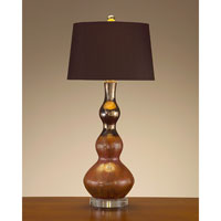 John Richard John Richard Table Lamp in Charcoal Brown  JRL-7939