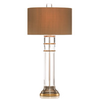 John Richard JRL-8013 Crystal 34 inch 60 watt Table Lamp Portable Light photo thumbnail
