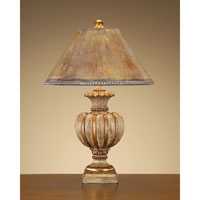 John Richard JRL-8023 Portable 33 inch 150 watt Hand-Finished Table Lamp Portable Light