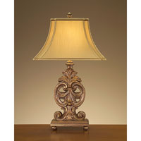 John Richard Portable 1 Light Table Lamp in Antique Gold JRL-8076