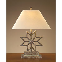 John Richard Portable 1 Light Table Lamp in Beige JRL-8159
