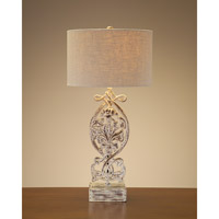 John Richard Portable 1 Light Table Lamp in Beige JRL-8197