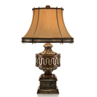 John Richard Portable 1 Light Table Lamp in Antique Gold JRL-8258