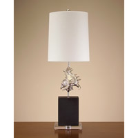 John Richard Portable 1 Light Table Lamp in Off White JRL-8262