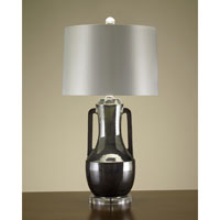 John Richard Portable 1 Light Table Lamp in Off White JRL-8299