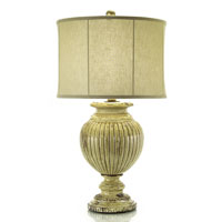 John Richard Portable 1 Light Table Lamp in Brass JRL-8321