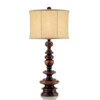 John Richard Portable 1 Light Table Lamp in Brass JRL-8334