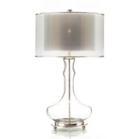 John Richard Portable 1 Light Table Lamp in Bronze JRL-8390