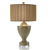 John Richard Portable 1 Light Table Lamp in Bronze JRL-8406