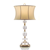 John Richard Crystal 1 Light Table Lamp JRL-8412
