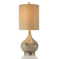 John Richard Portable 1 Light Table Lamp in Brass JRL-8457
