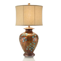John Richard Portable 1 Light Table Lamp in Brass JRL-8464