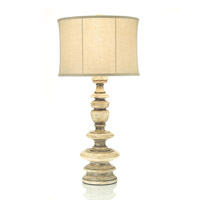 John Richard Portable 1 Light Table Lamp in Brass JRL-8575