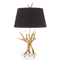 John Richard Portable 1 Light Table Lamp in Black JRL-8590
