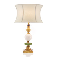 John Richard Portable 1 Light Table Lamp in Cream JRL-8594