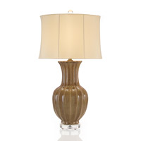 John Richard Portable 1 Light Table Lamp in Oyster JRL-8612