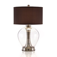 John Richard Portable 1 Light Table Lamp in Charcoal JRL-8619