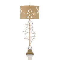 John Richard Portable 1 Light Table Lamp in Taupe JRL-8621